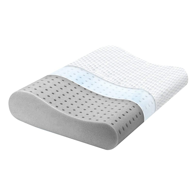 Hot Sale Contour New Design Of Bamboo Charcoal Memory Foam Pillow