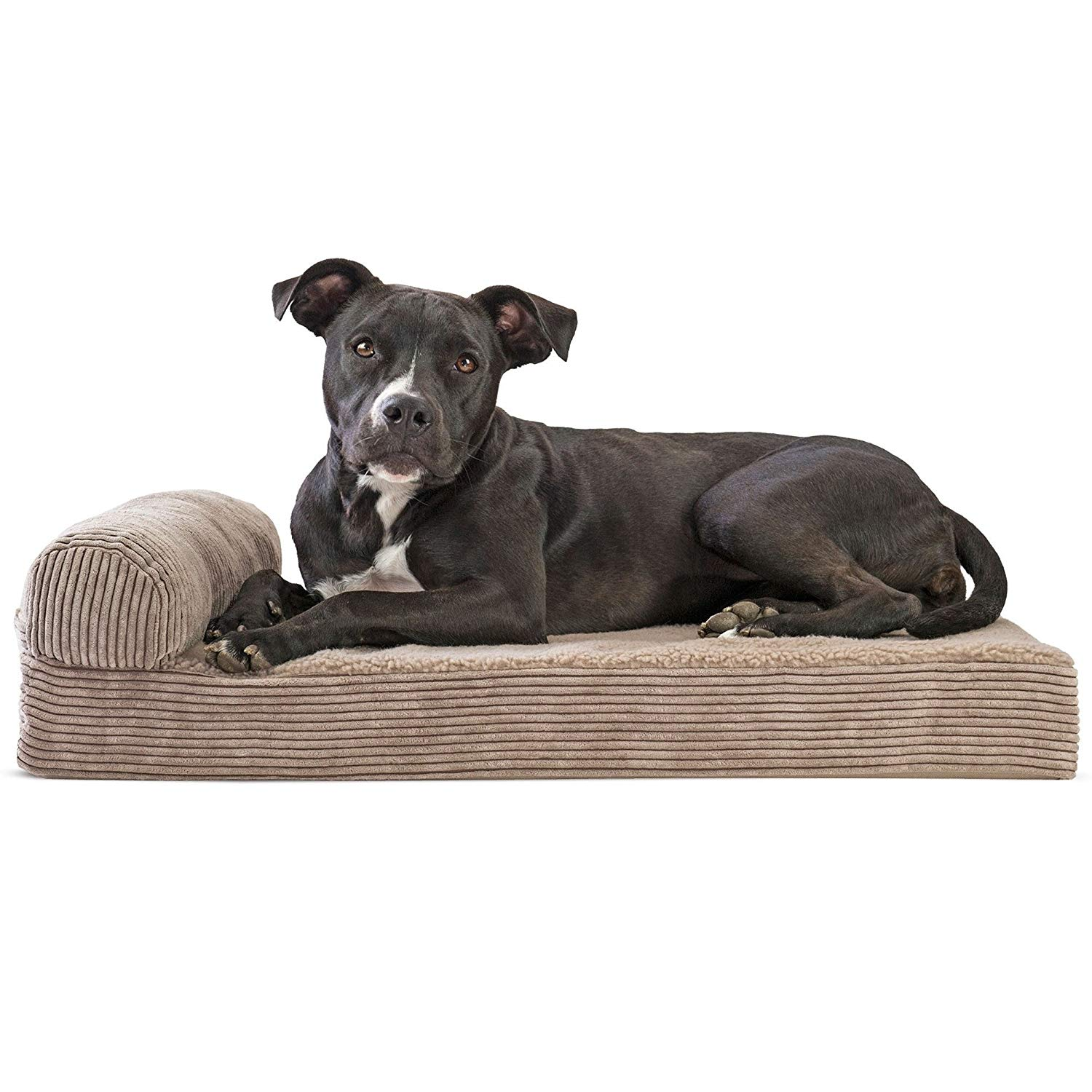 Custom Wholesale Hot Sell Polyester Fiber New Arrival Classic Design Dog Bed Basket Memory Foam Dog Bed