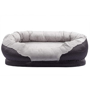 CPS OEM High Quality Soft Classic Design Warm Customized Material Dog Furniture Luxury