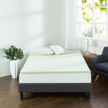 CPS Green Tea Topper Memory Foam Mattress