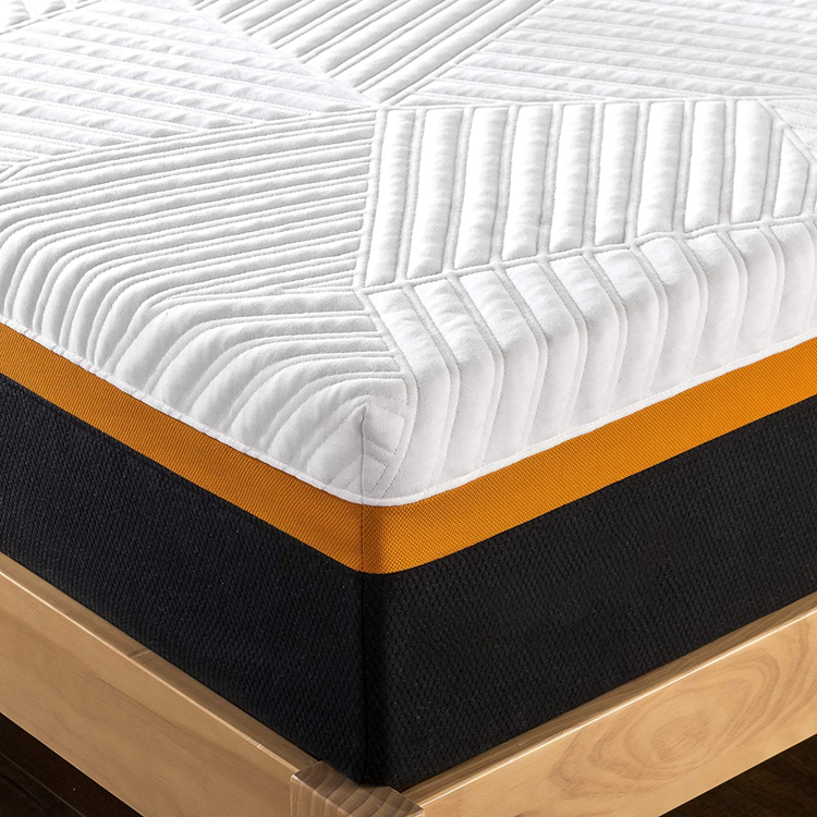 Factory Good Quality Gel Memory Foam Custom Brands Base Mattress