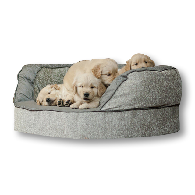 CPS Chinese supplier Comfortable custom logo Profession Free Sample small dog bed