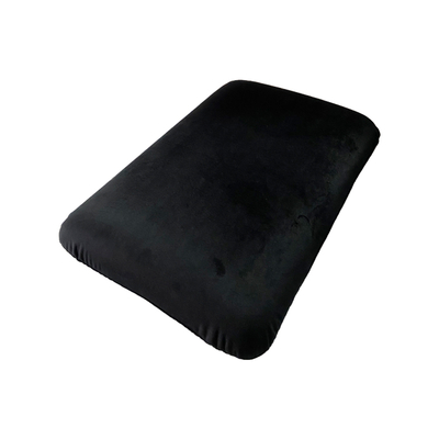Black Velvet Soft Memory Foam Pillow