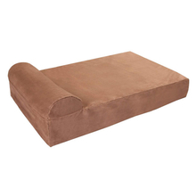 Wholesale Factory New Design Luxury Bolster Memory Foam Pet Supplies Bed