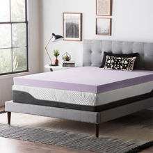 King Queen Size Purple New Hot Sell Factory Wholesale Gel Memory Foam Mattress