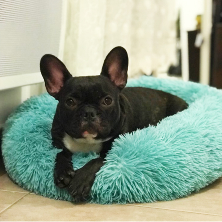 CPS High Quality Square Travel Dog Bed Customized Material Dog Bed