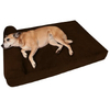 Soft Classic Flat Design Memory Foam Rectangle Extra Large Orthopedic Dog Beds