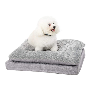 Warmer Memory Foam Disposable Chew Proof Custom Pet Beds For Dogs